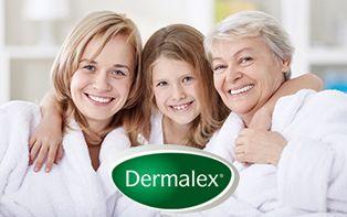 Dermalex, voor een goede verzorging van jouw droge huid, elke dag opnieuw!
