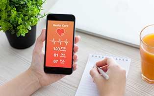 Hou je gezondheid nauwlettend in de gaten met de juiste gezondheidsapp!