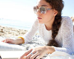 Lekker lezen in de zon? Kies voor plaklenzen!